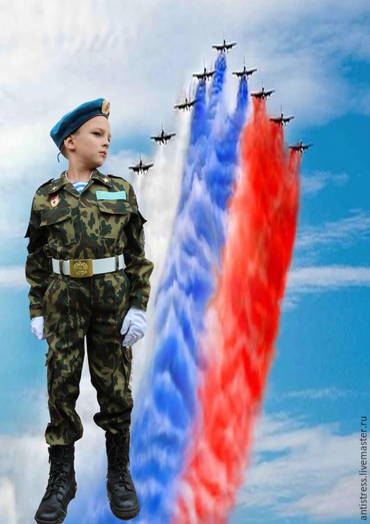 Славному десанту России посвящается! Для мальчишек и девчонок - патриотов Родины!