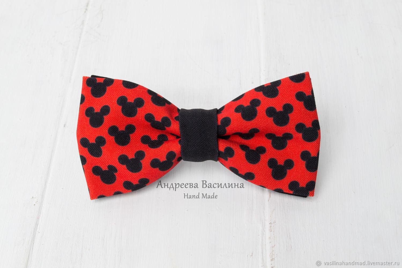 10f328b76794 Ties & Bow Ties handmade. Livemaster - handmade. Buy Mickey mouse bow Tie.