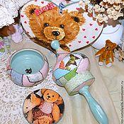 """Куклы и игрушки ручной работы. Ярмарка Мастеров - ручная работа Набор детский """"Ситчик"""". Handmade."""