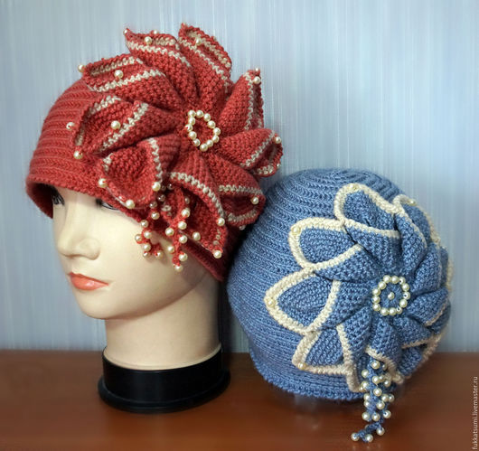 """Шляпы ручной работы. Ярмарка Мастеров - ручная работа. Купить Шляпка """"Истинная леди"""". Handmade. Однотонный, шляпка с цветком"""