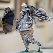 Куклы и игрушки ручной работы. Ярмарка Мастеров - ручная работа ангел с зонтиком. Handmade.