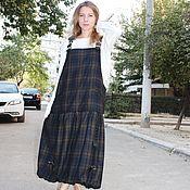 Одежда handmade. Livemaster - original item Sundress winter, fully cotton lining on.. Handmade.
