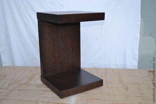 Мебель ручной работы. Ярмарка Мастеров - ручная работа. Купить Стол журнальный. Handmade. Коричневый, журнальный стол, дерево
