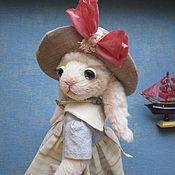 """Куклы и игрушки ручной работы. Ярмарка Мастеров - ручная работа Зайка """"Ассолька"""". Handmade."""