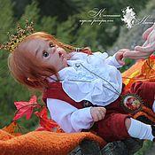 Куклы и игрушки ручной работы. Ярмарка Мастеров - ручная работа Маленький волшебный эльф Алфион ))). Handmade.