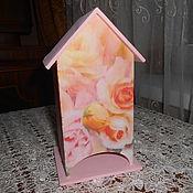 """Для дома и интерьера ручной работы. Ярмарка Мастеров - ручная работа Чайный домик """"Нежность"""". Handmade."""