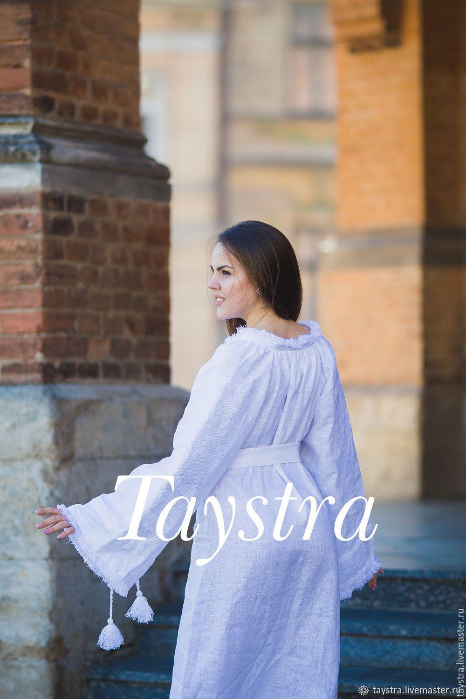 Embroidered Dress , boho style, Bohemian, white dress, Wedding dresses, Chernovtsy,  Фото №1