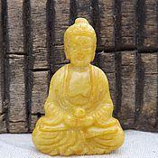 Материалы для творчества handmade. Livemaster - original item Jade pendant(figurine)