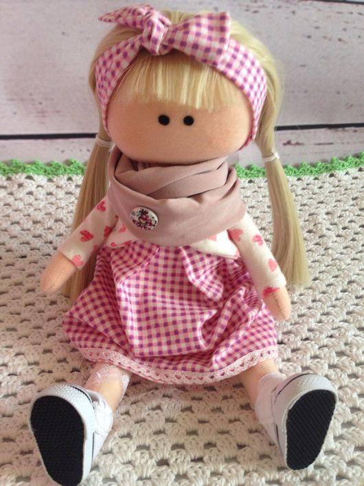 Человечки ручной работы. Ярмарка Мастеров - ручная работа. Купить Кукла Лида. Handmade. Интерьерная кукла, рукоделие, кружево