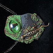 Украшения handmade. Livemaster - original item Dragon`s eye. Handmade.