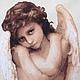 """Репродукции ручной работы. Ярмарка Мастеров - ручная работа. Купить """"Ангел"""". Handmade. Ангел, графика, 9 цветов"""