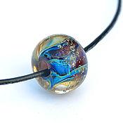 Украшения handmade. Livemaster - original item Glass pendant