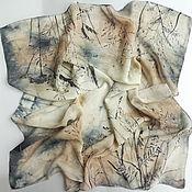 Аксессуары handmade. Livemaster - original item Batik, silk handkerchief