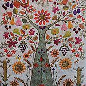 Картины и панно handmade. Livemaster - original item Embroidery. The tree of plenty.. Handmade.