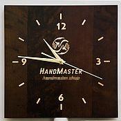 Для дома и интерьера ручной работы. Ярмарка Мастеров - ручная работа Просто часы 30х30см. Handmade.