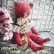 Куклы и игрушки ручной работы. Ярмарка Мастеров - ручная работа Тедди мишка Клубничное Варенье - Коллекция тедди Варенье. Handmade.