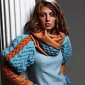 Одежда ручной работы. Ярмарка Мастеров - ручная работа Дизайнерское длинное платье. Handmade.
