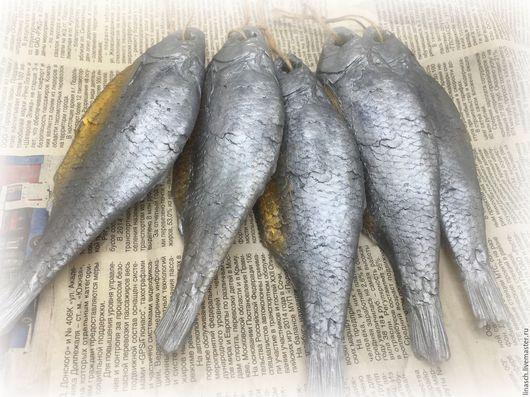 """Мыло ручной работы. Ярмарка Мастеров - ручная работа. Купить Мыло """" Вобла"""". Handmade. Серый, сушенная рыба, мыло"""