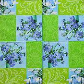Материалы для творчества handmade. Livemaster - original item 13pcs napkin for decoupage the flowers snowdrops. Handmade.