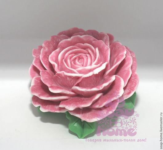 """Мыло ручной работы. Ярмарка Мастеров - ручная работа. Купить Сувенирное мыло """"Роза королевская"""". Handmade. Розовый, подарок женщине"""