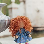 Round Head Doll handmade. Livemaster - original item Interior doll Merida. Handmade.