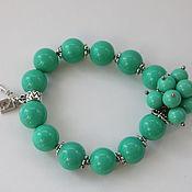 Украшения handmade. Livemaster - original item Bracelet sea green Summer mood - author`s decoration. Handmade.