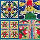Развивающие игрушки ручной работы. Массажный коврик развивающий коврик -Трансформер на 12 секторов. Развивающие игрушки для детей (NadejdaHandmade). Ярмарка Мастеров.