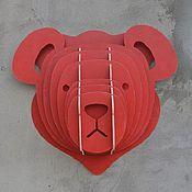 Для дома и интерьера ручной работы. Ярмарка Мастеров - ручная работа Teddy bear (Мишка). Handmade.