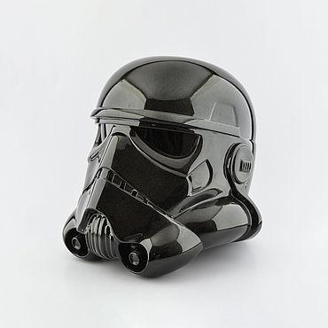 Дизайн и реклама ручной работы. Ярмарка Мастеров - ручная работа Шлем теневого штурмовика Shadow Stormtrooper Black. Handmade.