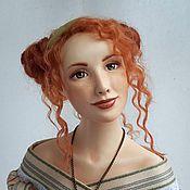 Куклы и игрушки ручной работы. Ярмарка Мастеров - ручная работа будуарная кукла Агнес. Handmade.