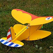 Куклы и игрушки ручной работы. Ярмарка Мастеров - ручная работа Модель самолета.. Handmade.