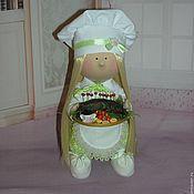 Куклы и игрушки ручной работы. Ярмарка Мастеров - ручная работа Интерьерная кукла Шеф-повар. Handmade.