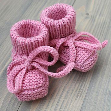 Товары для малышей ручной работы. Ярмарка Мастеров - ручная работа Пинетки для малышки. Handmade.