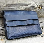 Сумки и аксессуары handmade. Livemaster - original item Leather men`s clutch Bag №1. Handmade.