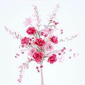 """Цветы и флористика ручной работы. Ярмарка Мастеров - ручная работа Букет """"Так должно выглядеть счастье"""". Handmade."""