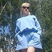 Одежда handmade. Livemaster - original item Sport.suit ,,Sea