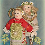 """Куклы и игрушки ручной работы. Ярмарка Мастеров - ручная работа Куклы """"Влюблённая парочка"""". Handmade."""