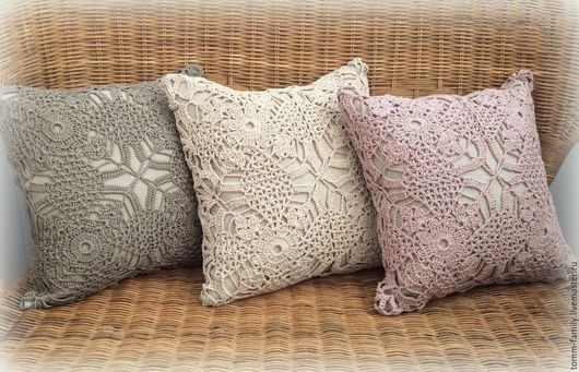"""Текстиль, ковры ручной работы. Ярмарка Мастеров - ручная работа. Купить Подушки """"Pastel"""" комплект. Handmade. Бежевый, подушка на диван"""