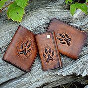 Сумки и аксессуары handmade. Livemaster - original item Leather accessories set in a gift box. Handmade.