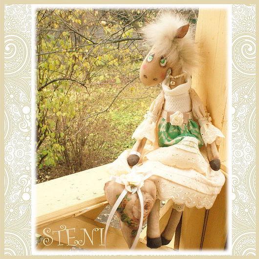 Ароматизированные куклы ручной работы. Ярмарка Мастеров - ручная работа. Купить Лошадка Фанни. Handmade. Бежевый, лошадь сувенир