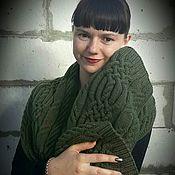Аксессуары ручной работы. Ярмарка Мастеров - ручная работа Вязаный шарф .. Handmade.