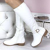 Обувь ручной работы handmade. Livemaster - original item Womens leather winter boots with sheepskin or demi. Handmade.