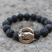 Украшения handmade. Livemaster - original item Viking bracelet - Odin. Handmade.