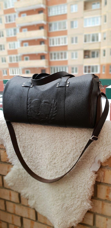 1a0670ac8103 Спортивные сумки ручной работы. Ярмарка Мастеров - ручная работа. Купить Дорожная  сумка из натуральной ...