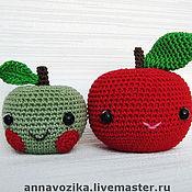 """Куклы и игрушки ручной работы. Ярмарка Мастеров - ручная работа Игрушка """"Яблочки"""". Handmade."""