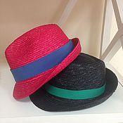 Аксессуары ручной работы. Ярмарка Мастеров - ручная работа Летние шляпы трилби. Handmade.
