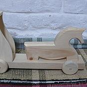 Русский стиль ручной работы. Ярмарка Мастеров - ручная работа Лошадка с тележкой. Handmade.