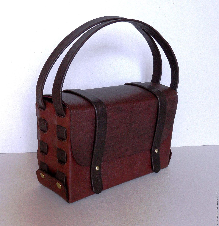 """""""Шоколад"""" - стильная сумочка из натуральной итальянской кожи, Сумки, Новополоцк, Фото №1"""