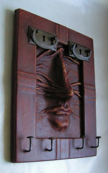 Entrance Hall handmade. Livemaster - handmade. Buy nose.Leather