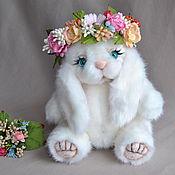 Teddy Toys handmade. Livemaster - original item Teddy Bunny Summer 3. Handmade.